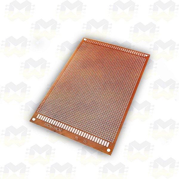 Placa (PCB) de Circuito Impresso 12X18 Perfurada (2640 furos)
