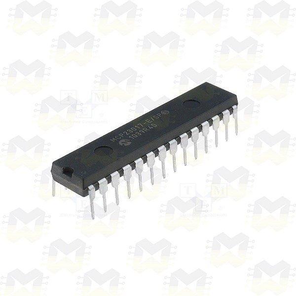 MCP23017 Expansor de Portas digitais 16 Bits I2C
