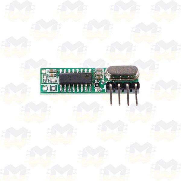 Módulo Receptor Super Heterodino RF 433MHz