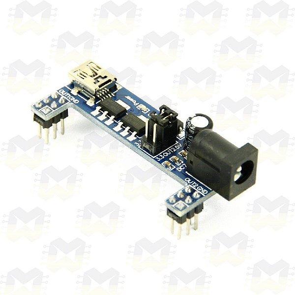 Fonte Ajustável MB102 para Protoboard