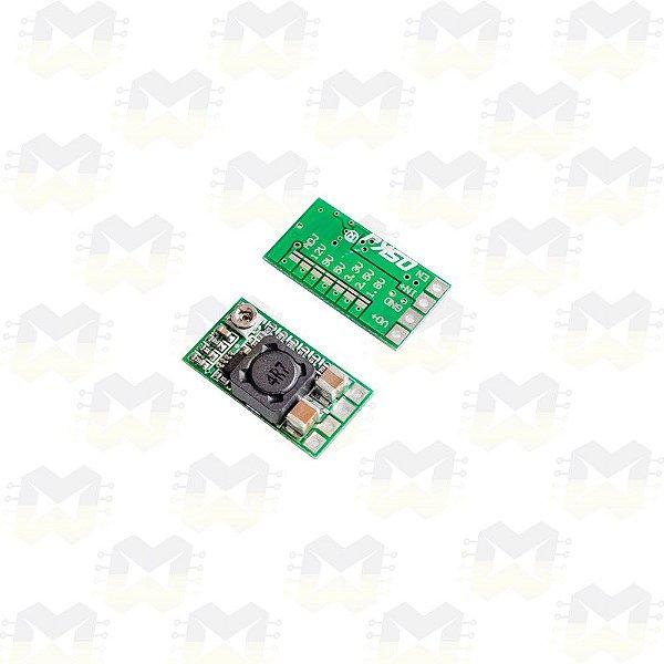 Mini Regulador de Tensão Ajustável 4.5-24VDC Step Down