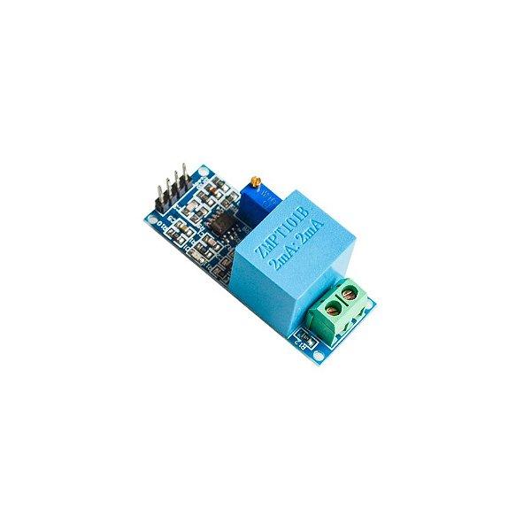 Sensor de Tensão AC 0 a 250V Voltímetro ZMPT101B