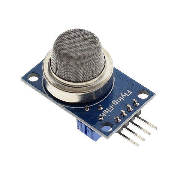 Sensor (Detector) de Monóxido de Carbono, Metano e Propano - MQ-9