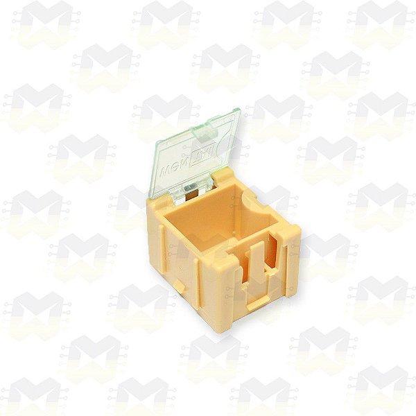 Mini Caixa para Componentes SMD - Laranja