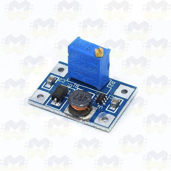 Módulo Regulador (Elevador) de Tensão Ajustável Step Up DC-DC - SX1308