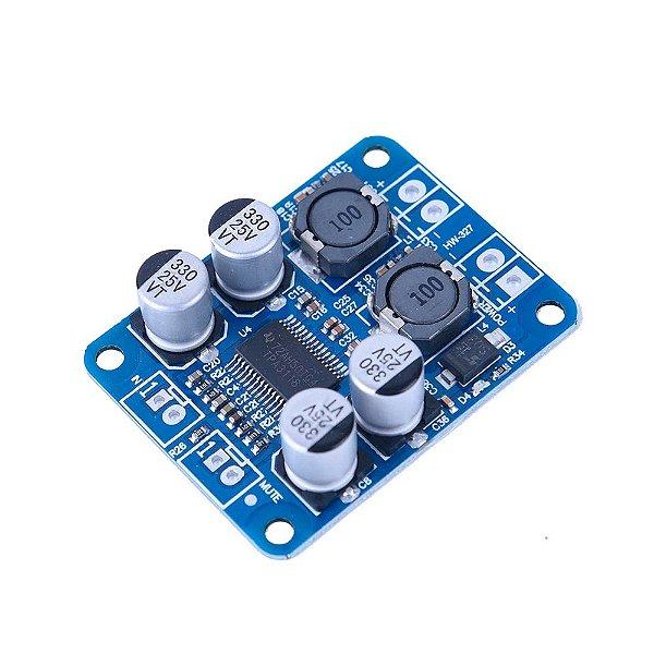 Amplificador de Som Mono 1X60W - TPA3118 PBTL
