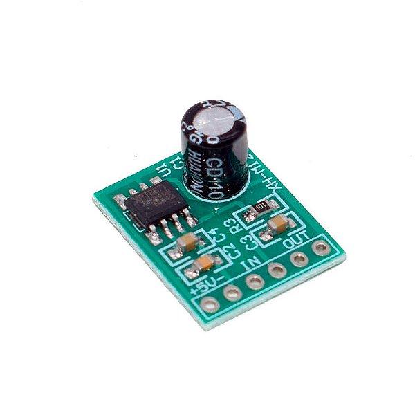 Amplificador de Áudio Mono 1X5W - XPT8871