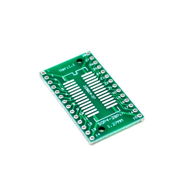 Adaptador SOP4-28 / SSOP4-28 SMD para DIP