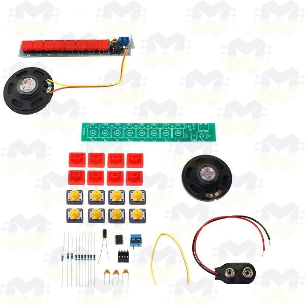Módulo KIT Piano DIY NE555