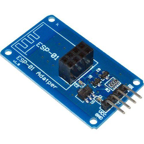 Adaptador Conector 3.3V / 5V para o Módulo WiFi ESP8266 ESP-01