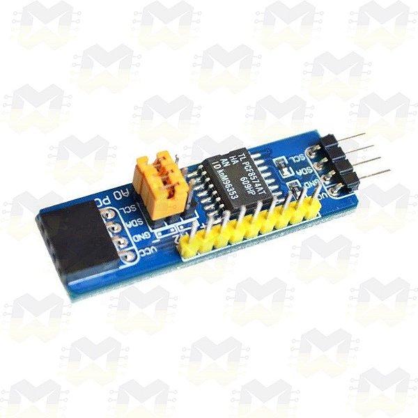 Módulo Expansor de Portas I2C 8 bits PCF8574