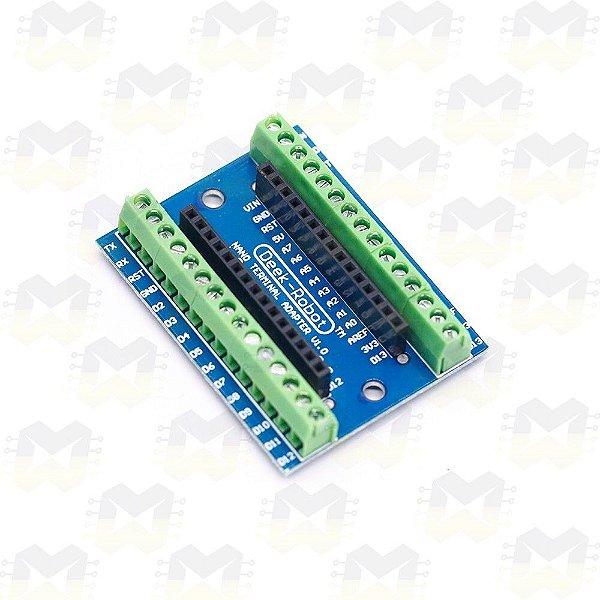 Screw Shield para Arduino Nano