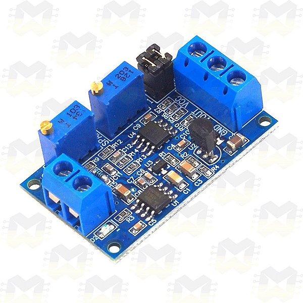 Módulo Conversor de Corrente 4 a 20mA para Tensão 0 a 2.5V / 3.3V / 5V / 10V