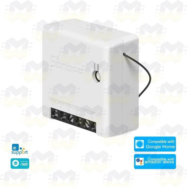 Sonoff Mini DIY Relé WiFi Interruptor Inteligente para Automação