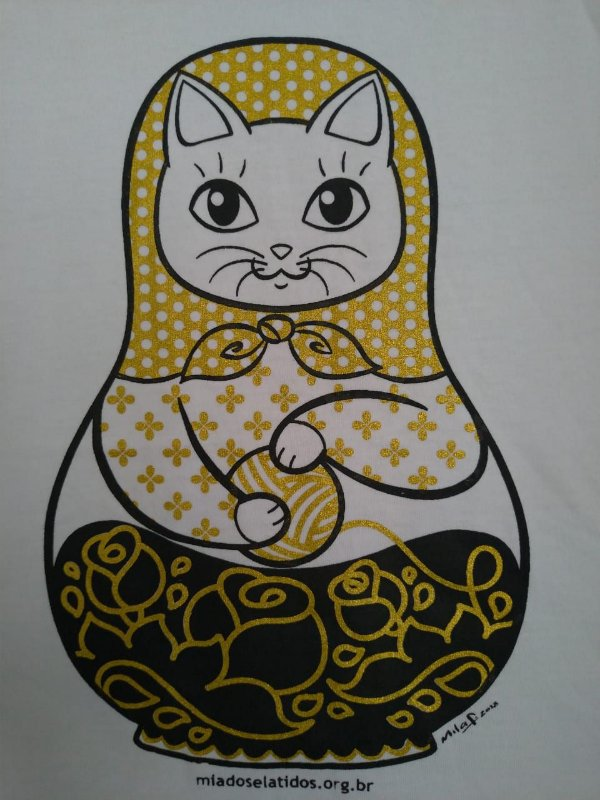 Camiseta Gatrioska Tradicional
