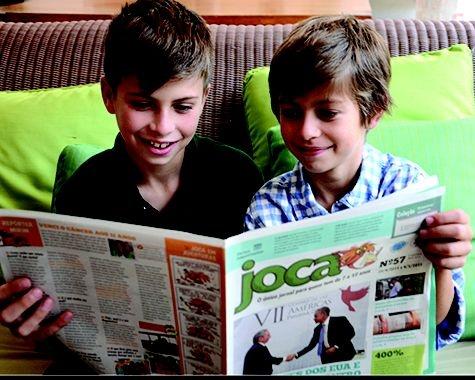 JOCA: um Jornal feito especialmente para crianças