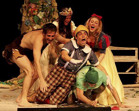 Teatro infantil: Aventuras de Peter Pan e Pinóquio salvando a Natureza (SÃO PAULO)