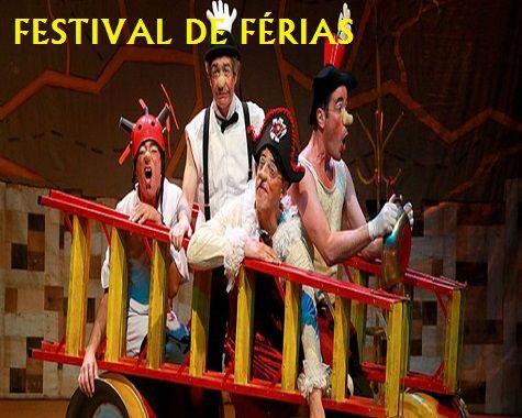 TEATRO INFANTIL: OS MEQUETREFE - FESTIVAL DE FÉRIAS (Quartas feiras de Janeiro em São Paulo)