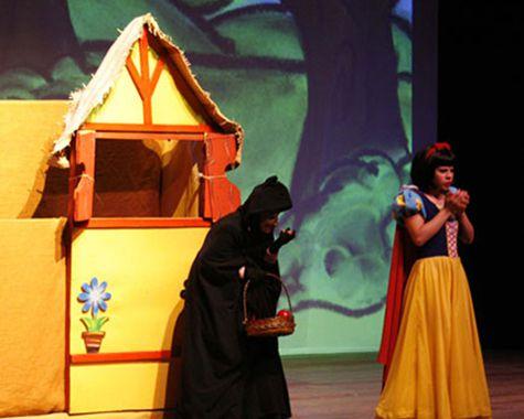 Teatro infantil: Branca de Neve (Centro de SP)