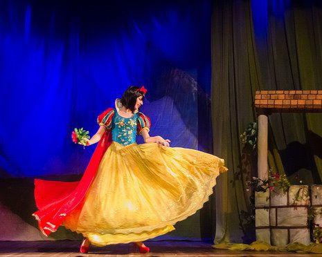 Teatro infantil: Branca de Neve (Zona Sul)