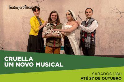 Teatro infantil: Cruella - Um Novo Musical (Zona Sul)