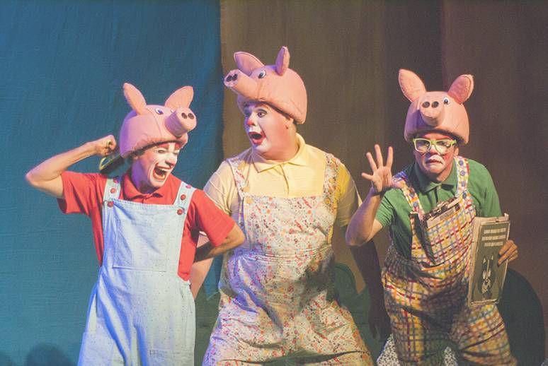 Teatro infantil: Os Três Porquinhos - O Retorno do Lobo Mau (Zona Oeste)