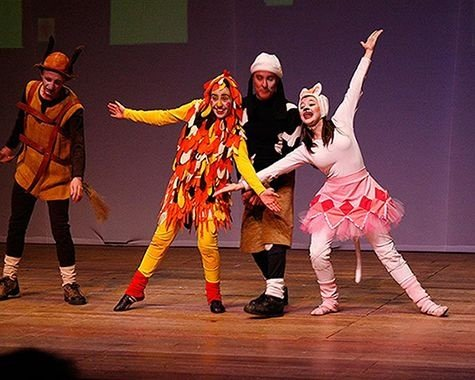Teatro infantil: Os Saltimbancos (SÃO PAULO)