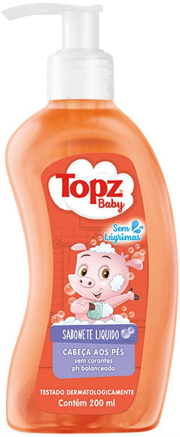 Sabonete Líquido Para Bebê da Cabeça aos Pés - Topz Baby