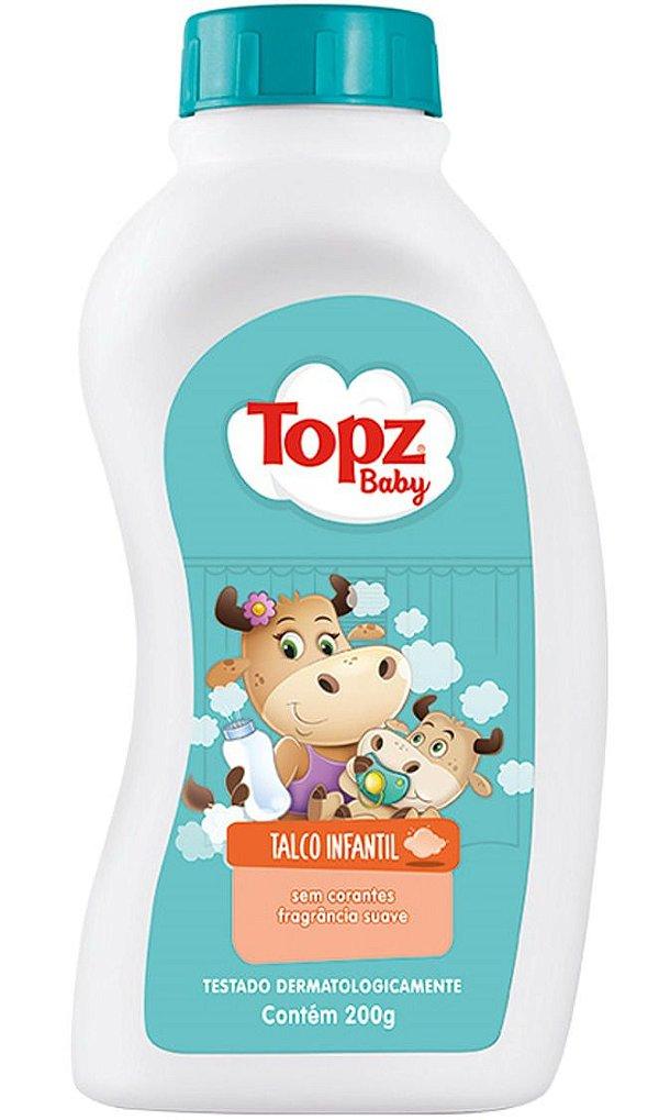 Talco Para Bebê - Topz Baby