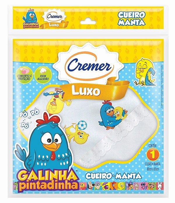 Cueiro Manta Galinha Pintadinha Cremer C/ 1 Unid.