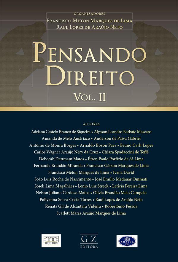 PENSANDO DIREITO – VOL. 2