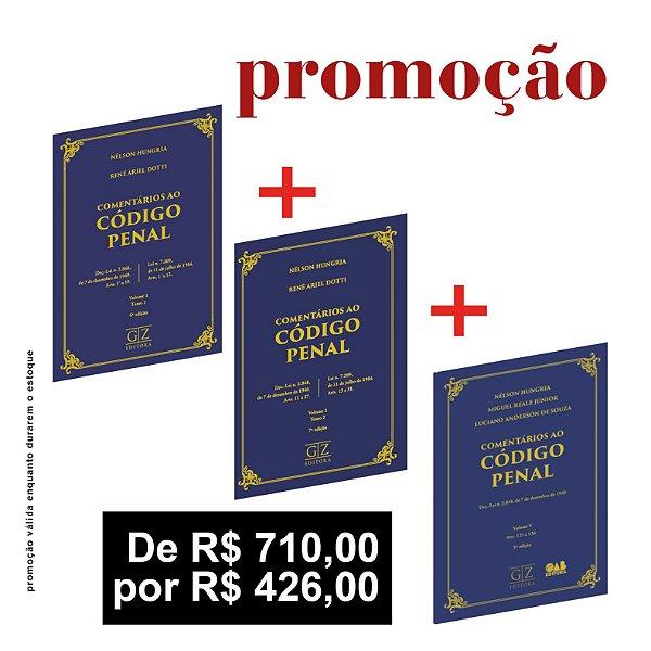 COMENTÁRIOS AO CÓDIGO PENAL - OS 3 VOLUMES