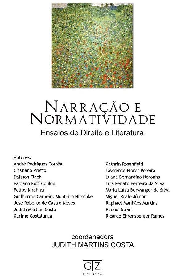 Narração e Normatividade - Ensaios de Direito e Literatura