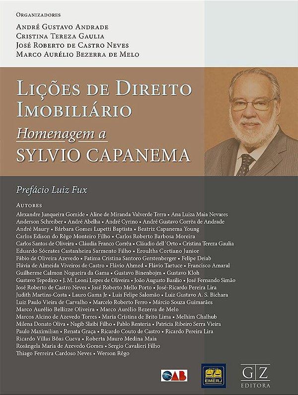 Lições de Direito Imobiliário  Homenagem a Sylvio Capanema de Souza