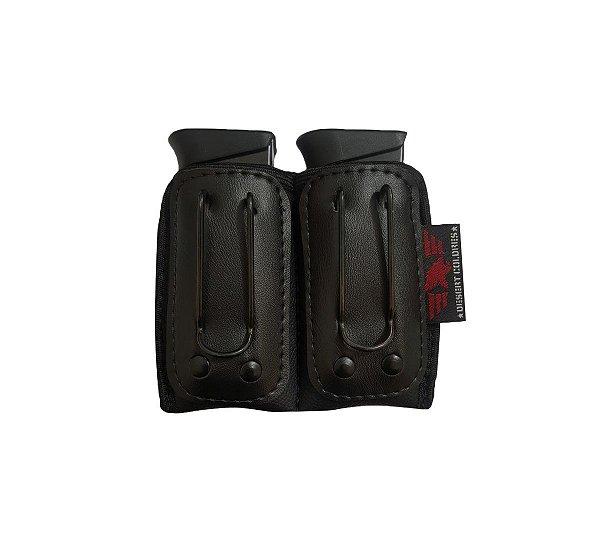 Porta Carregador Velado (Duplo) Para Pistolas 380, 938, 940, PT58, G25, 840, 838, TS9