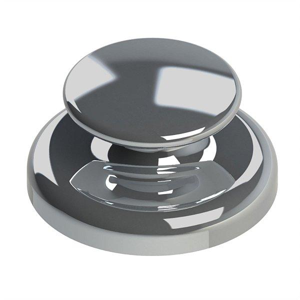 Botão Lingual para Colagem Convexo Ø 3,5mm Morelli
