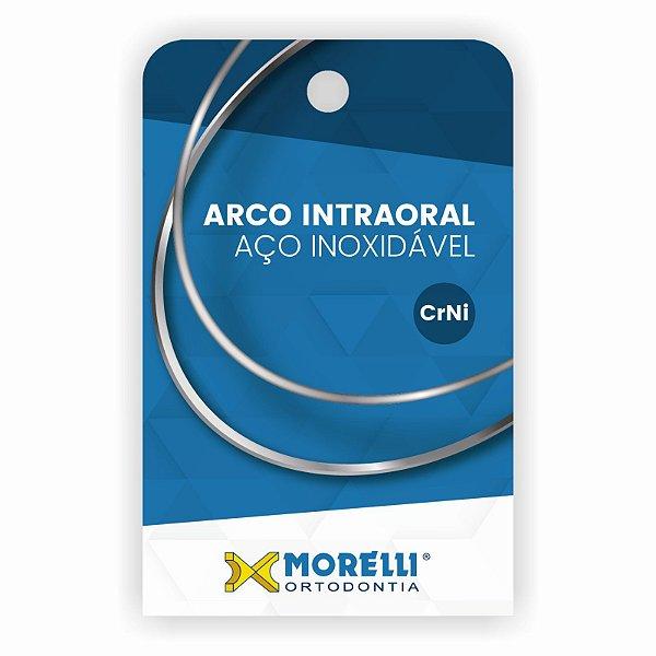 Arco Intraoral Inferior Aço CrNi Quadrado Morelli