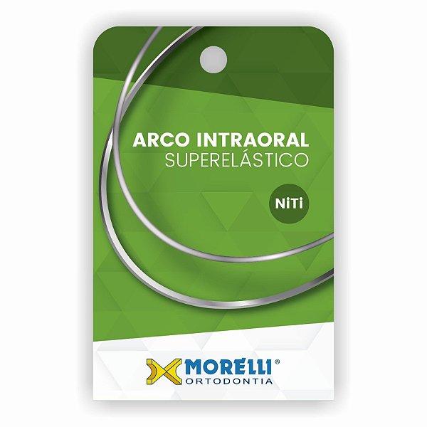 Arco Intraoral Superelástico Pequeno NiTi Retangular Morelli