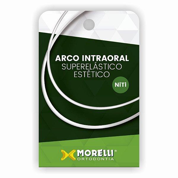 Arco Intraoral Estético Médio NiTi Retangular Morelli
