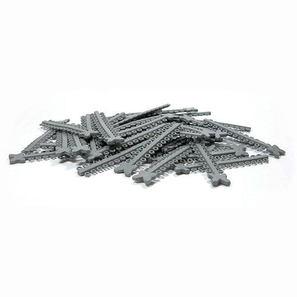 Elástico Ligadura Modular Cinza