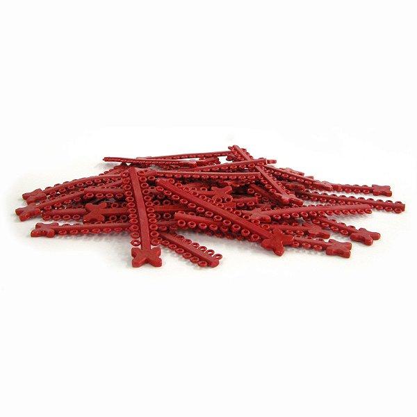 Elástico Ligadura Modular Vermelho