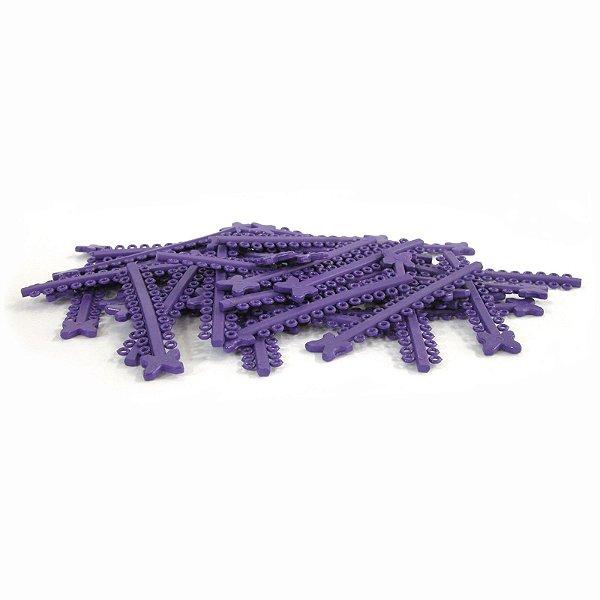 Elástico Ligadura Modular Roxo