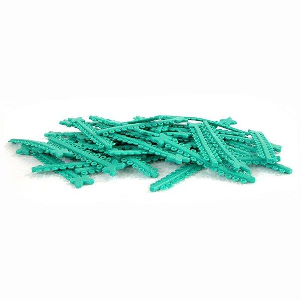 Elástico Ligadura Modular Verde Mar