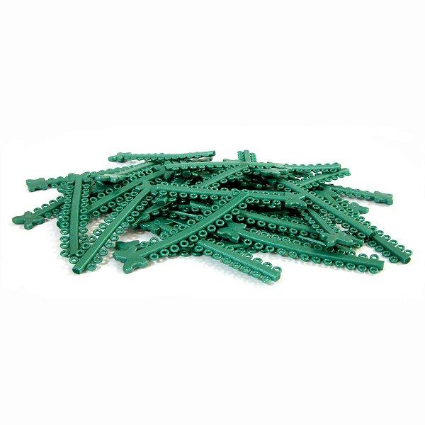 Elástico Ligadura Modular Verde Pérola