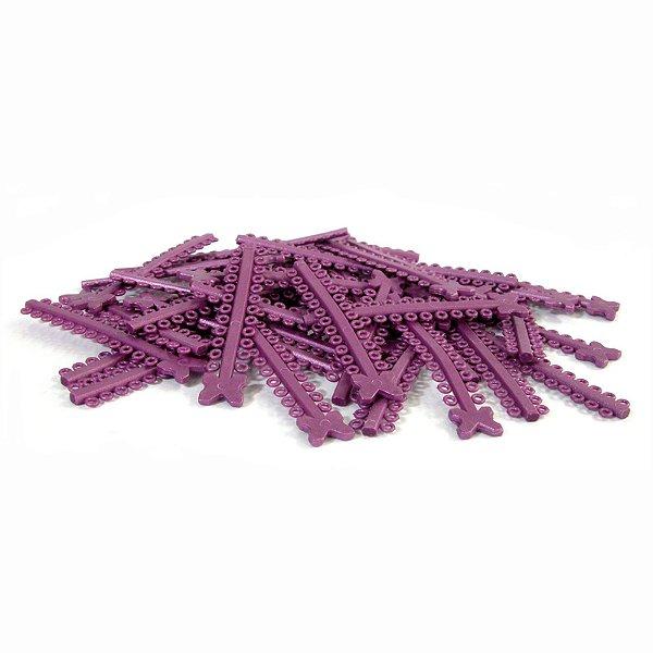Elástico Ligadura Modular Rosa Pérola