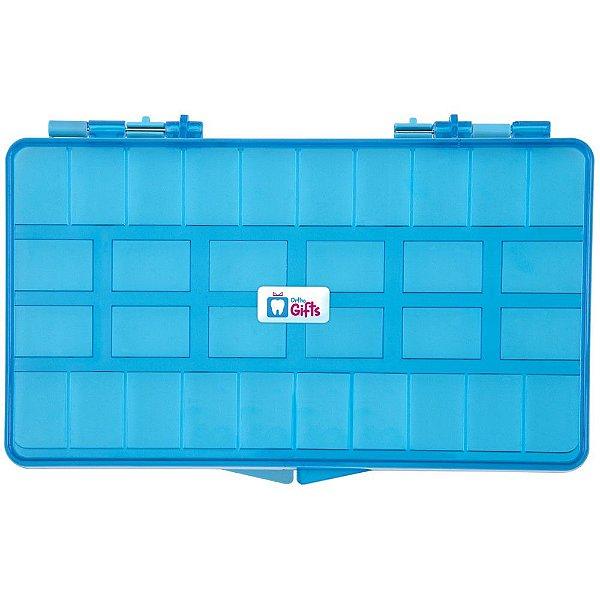 Caixa Organizadora Azul Orthometric