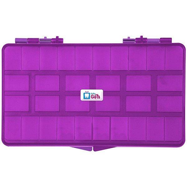 Caixa Organizadora Roxo Orthometric