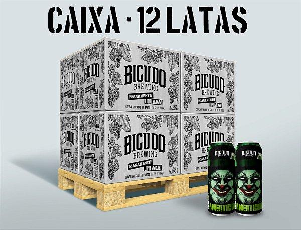 CAIXA 12 LATAS 473ml - HAZY 4 AMBITIOUS