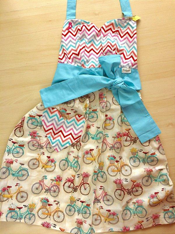 Avental Juliette Bicicletas