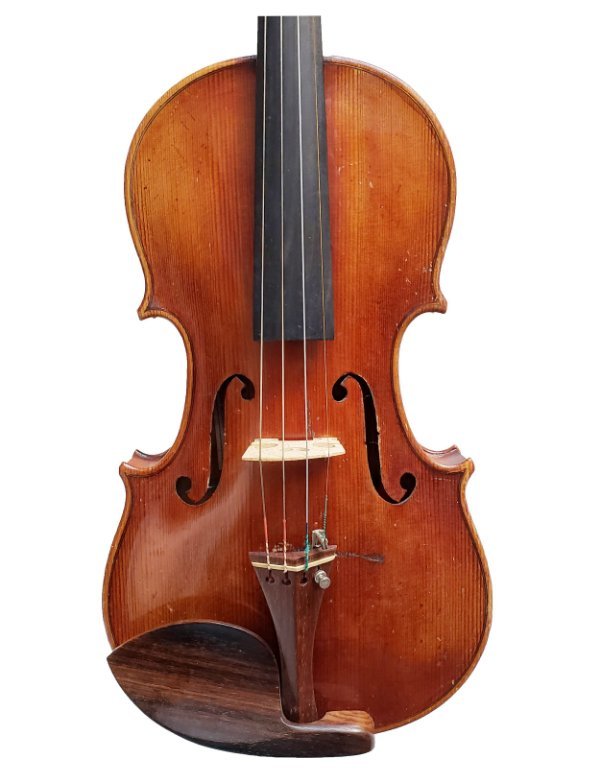 VIOLINO DE WORKSHOP ALEMÃO - ANTON SHOROETTER, ANO 1900